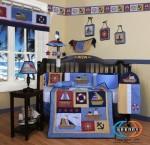 Geenny Nautical Crib Set