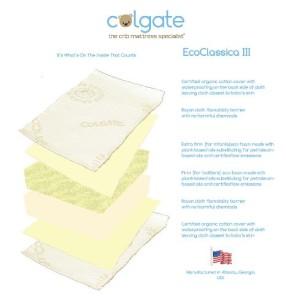 Colgate Crib Mattress Review