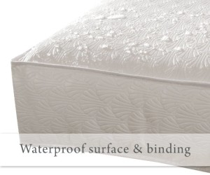 Sealy Waterproof Soybean Crib MAttress