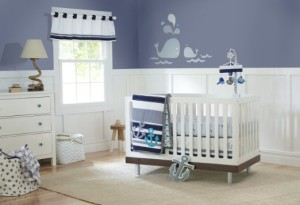 Just Born Nautical Crib Set