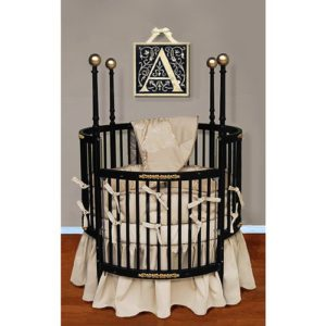 Baby Doll Round Baby Crib Bedding