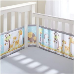 Breathable Mesh Crib Bumper Baby Comfort Authority