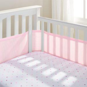 Pink Crib Liner