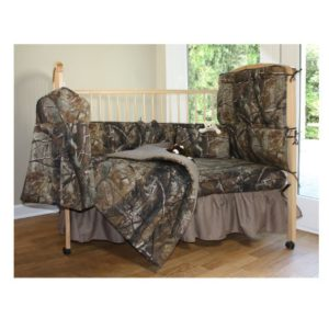 Real Tree Camo Baby Crib Bedding