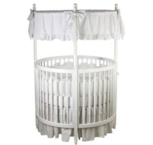 Sophia Posh Round Crib